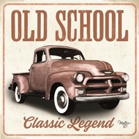Old School Vintage Trucks I Fine Art Print