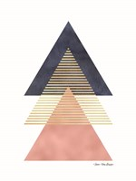 Triangles II Fine Art Print