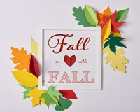 Fall In Love With Fall 1 Fine Art Print