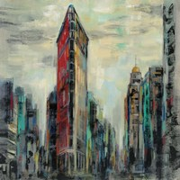 Manhattan Flatiron Building Fine Art Print