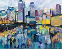 Boston Harbor Fine Art Print