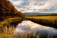All with God Fine Art Print