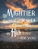 Mightier than the Waves Fine Art Print