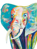 Colorful Elephant Fine Art Print