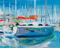 Marina Sailboats Fine Art Print