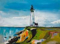 Lighthouse on a Cliff Fine Art Print