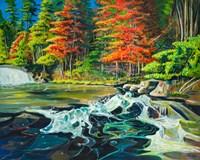 Running River I Fine Art Print