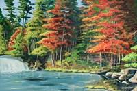 Running River II Fine Art Print