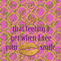 Love and Smile II Fine Art Print