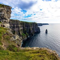 Cliffs of Moher Square Fine Art Print