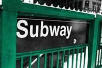 Subway Fine Art Print