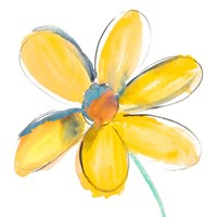 Yellow Summer Daisy Fine Art Print