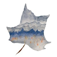 Mountains in the Leaf Fine Art Print