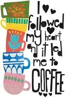 Heart and Coffee Fine Art Print