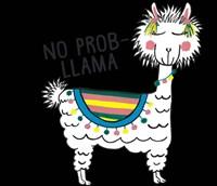No Prob-Llama Fine Art Print