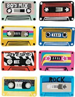 Retro Mix Tapes Fine Art Print