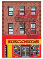 Vinyl Records Fine Art Print