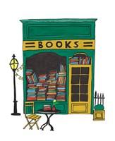 Book Shop Fine Art Print