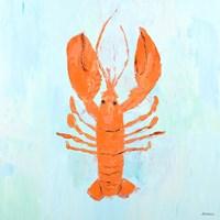 Orange Claw Buddies I Fine Art Print
