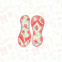 Summer Sandals II Fine Art Print