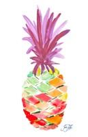 Punchy Pineapple I Framed Print