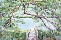 Misty Lake Fine Art Print