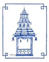 The Pagoda I Fine Art Print