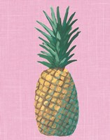 Pineapple on Pink Fine Art Print