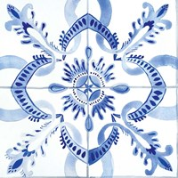 Spanish Tile IV Fine Art Print