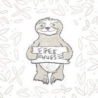 Animal Hugs I Fine Art Print