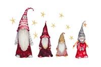 Gnome Family Fine Art Print