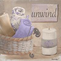 Lavender Bath I Fine Art Print