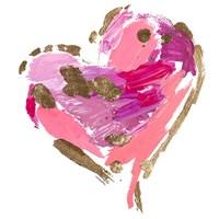 Heart Full of Love I Fine Art Print