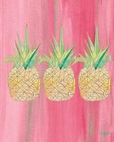 Bright Tri Origami II Fine Art Print