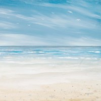 Misty Coastal Days I Fine Art Print