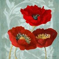 Rouge Pavots II Fine Art Print