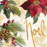 Christmas Poinsettia III Framed Print