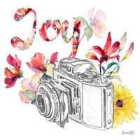 Blooming Camera Fine Art Print