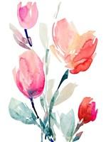 Happy Tulips II Fine Art Print