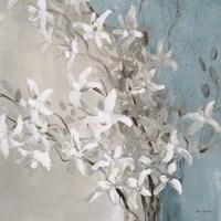 Misty Orchids (Blue) I Fine Art Print