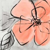 Cafe Rose I Fine Art Print
