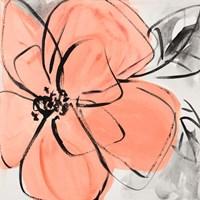 Cafe Rose II Fine Art Print