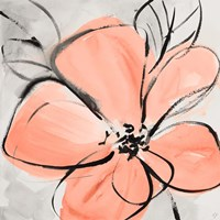 Cafe Rose III Fine Art Print
