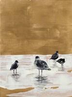 Seagulls Chillin' Fine Art Print