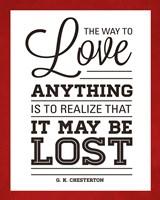 To Love II Fine Art Print