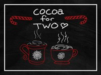 Cocoa for Two Fine Art Print