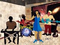 Jazz at City View Fine Art Print