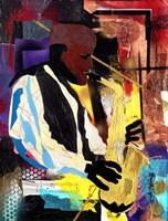 Saxophonist Fine Art Print