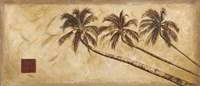 Sepia Palms Fine Art Print