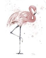 Flamingo Stand II Fine Art Print